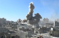 Syrian Jet Fighter Strikes FSA Rebels