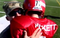 Lil' Football Player Moved to Tears