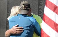 Retired Marine Walks Across America
