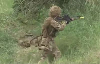 British Army 'Laser Tag' Training