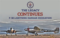 F-35 Hangar Dedicated to P-38