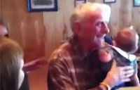 Army Col Surprises His Vet Father