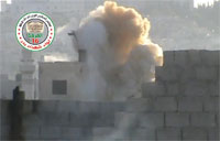 FSA Homemade Cannon On Target