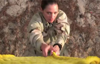 Female Navy EOD Sailor Talks Shop