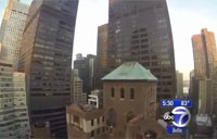 Civilian Drone Crashes in Manhattan