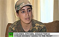 Mothers in Arms Fight FSA in Syria