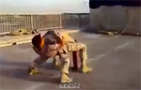 Iraqi Troops Turn into 4-legged Creature