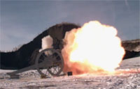 Double-Barreled Cannon Re-Invented