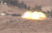 Heavy Bombardment on SAA Troops