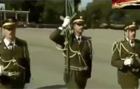 Assad's Military Academy Graduation