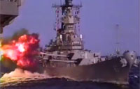 Battleship USS Missouri Shock & Awe