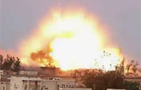 4 Ton Bomb Unleashed in Syria