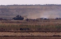 Anti-tank Missile Nails SAA Tank