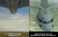 First USAF Virtual Air Refueling