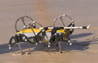 Aqua Hexapod Gets New 'Ninja Legs'