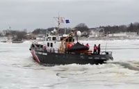 Breaking the Ice with the Coast Guard