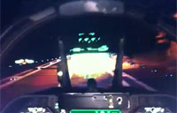 F/A-18 Carrier Landing at Night!