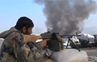 Taliban Strikes US Afghan Base