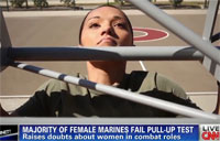 Female Marines 3 Pull-up Debate