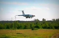 Drunk Russian Pilot Lands il-76