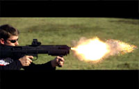 The 12 Gauge Bullpup in Action!