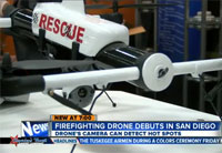 New Firefighting Drone Makes Debut