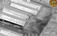 Iraqi Air Force Strikes Weapons Cache