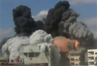 Bombs Drop On FSA Arms Depot in Daria