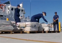 Coast Guard Off Loads $37m of Cocaine
