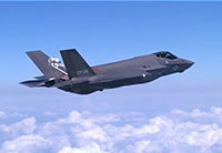 F-35C High Angle of Attack