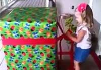 A 'Soldier in a Box' Birthday Surprise
