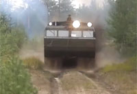 Russian Military 30-ton ATV Doing 40 km/h