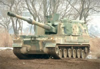 ROK K-9 155mm Self-Propelled Howitzer