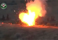 Metis ATGM Turns Tank into Volcanic