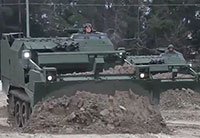 Marines Dig In With the Earthmover