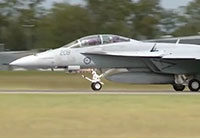 RAAF Super Hornet Preps for Air Shows