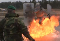 A Look at Military Fire Phobia Training
