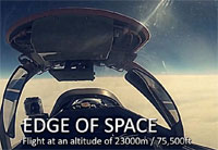 Edge of Space Flight in a MiG-29