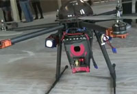 'Cupid' Drone Fitted with a Stun Gun