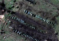 Russian Troops Digging in on Ukraine Border
