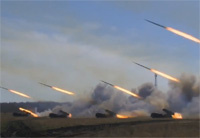 Russia Test-Launches Missiles