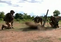 French Troops Fight in Central Africa