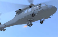 Robotic Weapon System for Black Hawk