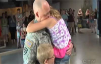 Soldier Makes Father's Day Surprise
