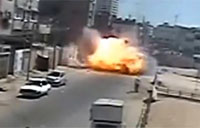 IDF Engages and Destroys Civilian Car