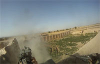 Infantry Battles Taliban in Kandahar