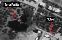 Precision Attack on Terror Target in Gaza