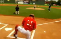 First Pitch Reunites Soldier & Daughter