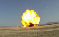 EOD Controlled Detonations in OEF