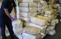 Coasties Offload 12,000 lbs of Pot